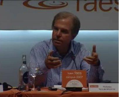 Nicholas Negroponte en España